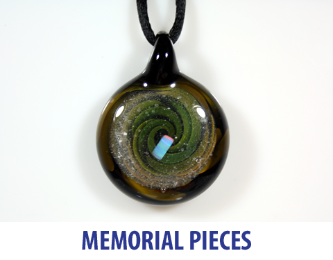 custom memorial pieces made with ashes