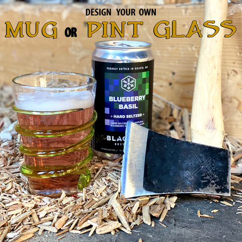 Design Your Own Mug or Pint Glass