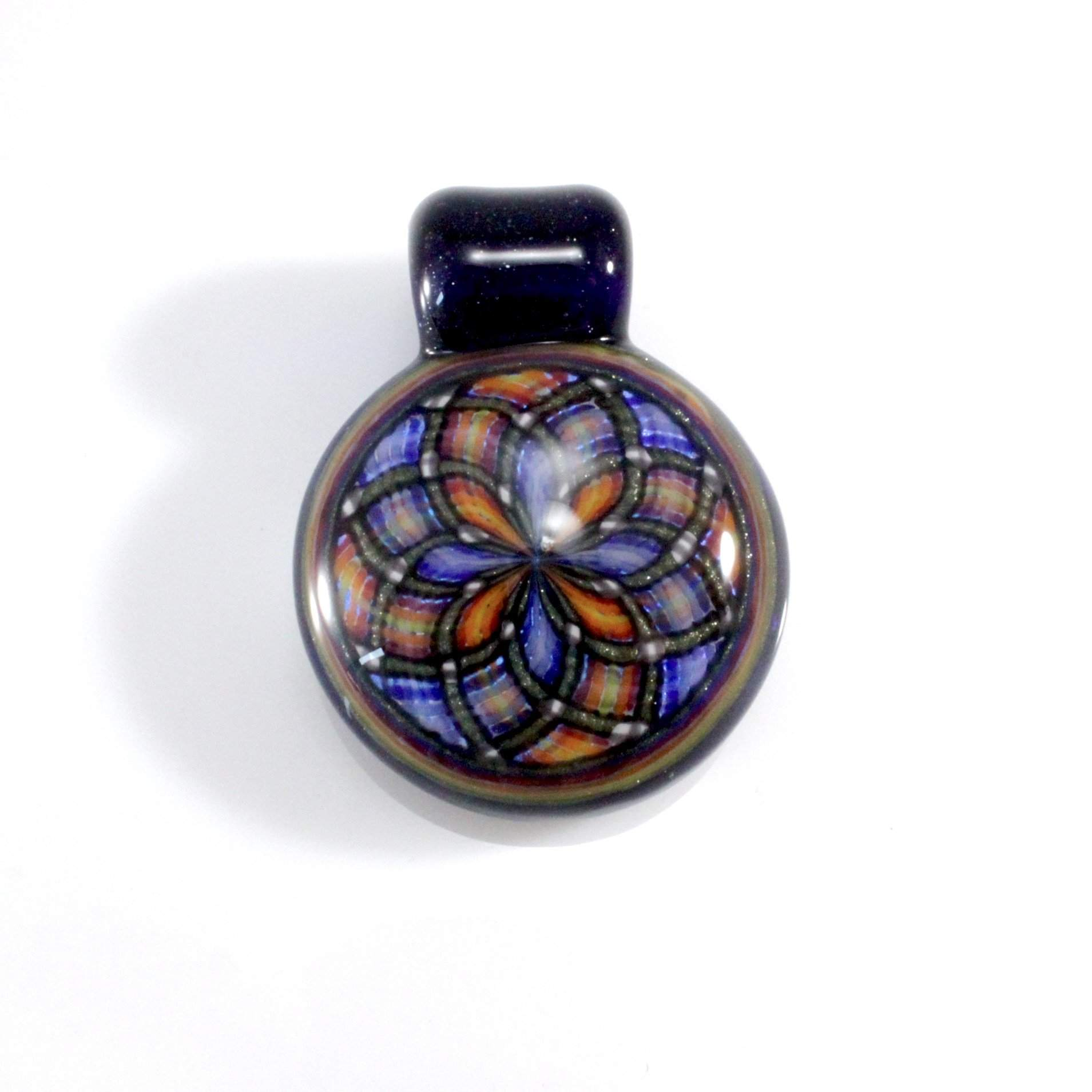 Tom Crosby Fillicello Pendant - Lake Superior Art Glass