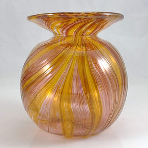 Feather Rake Vases - Lake Superior Art Glass