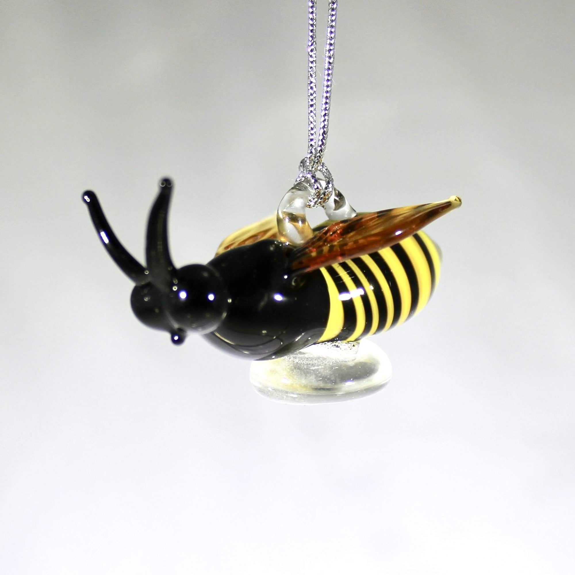 Bee Ornament - Lake Superior Art Glass