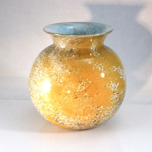 Powder Frit Earth Vases - Lake Superior Art Glass
