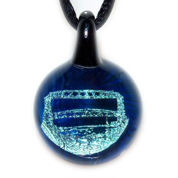 Lift Bridge Pendant - Lake Superior Art Glass