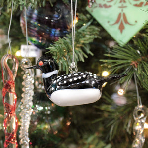 Loon Ornament - Lake Superior Art Glass