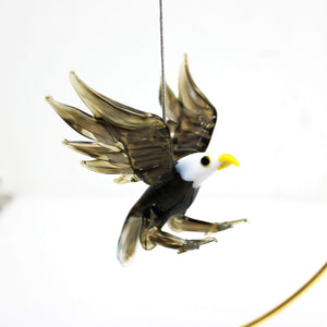 Bald Eagle Ornament - Lake Superior Art Glass