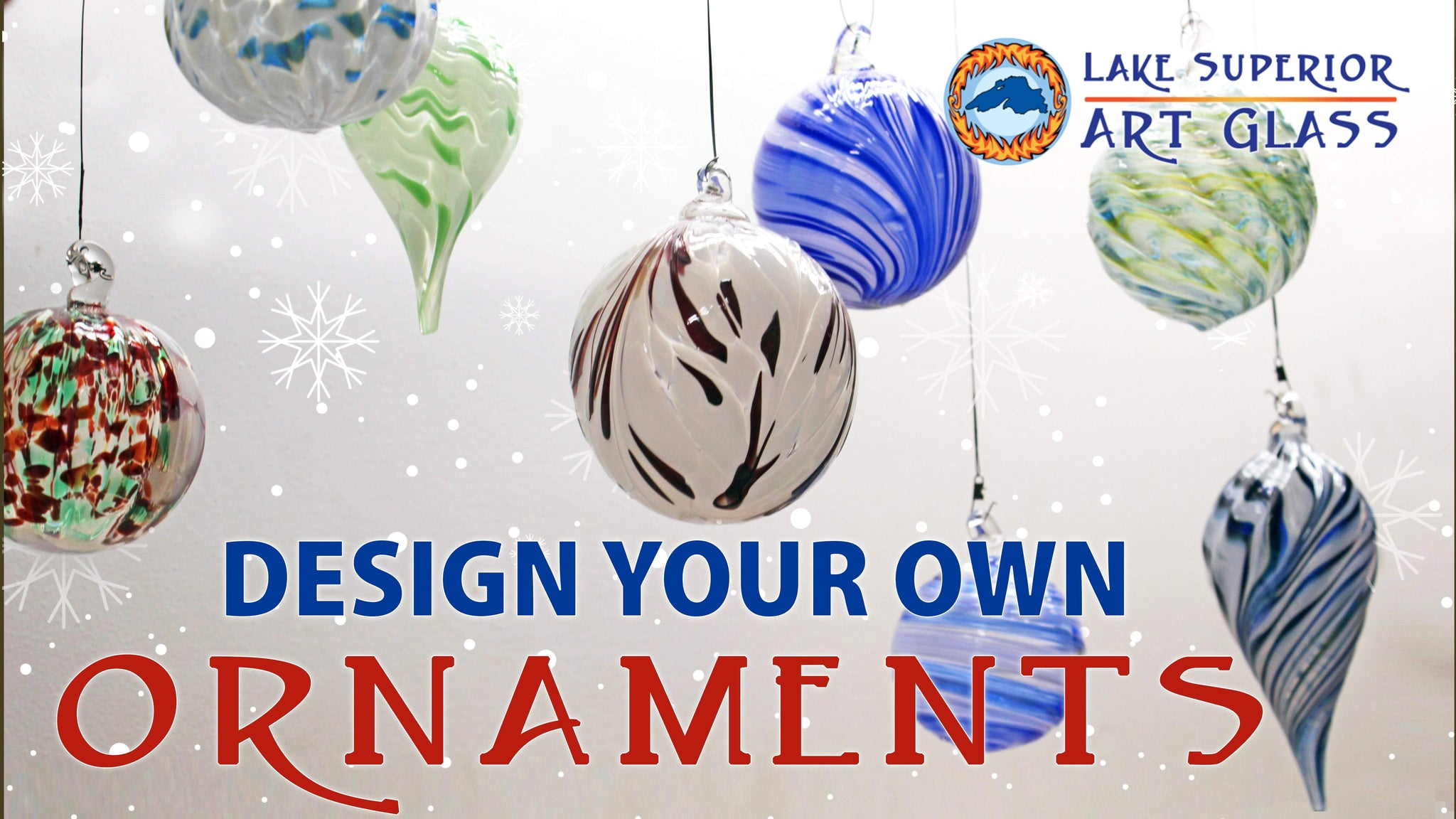 Design Two Custom Ornaments