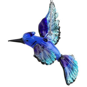 Blue Jay Ornament - Lake Superior Art Glass