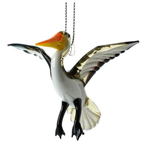 Pelican Ornament - Lake Superior Art Glass