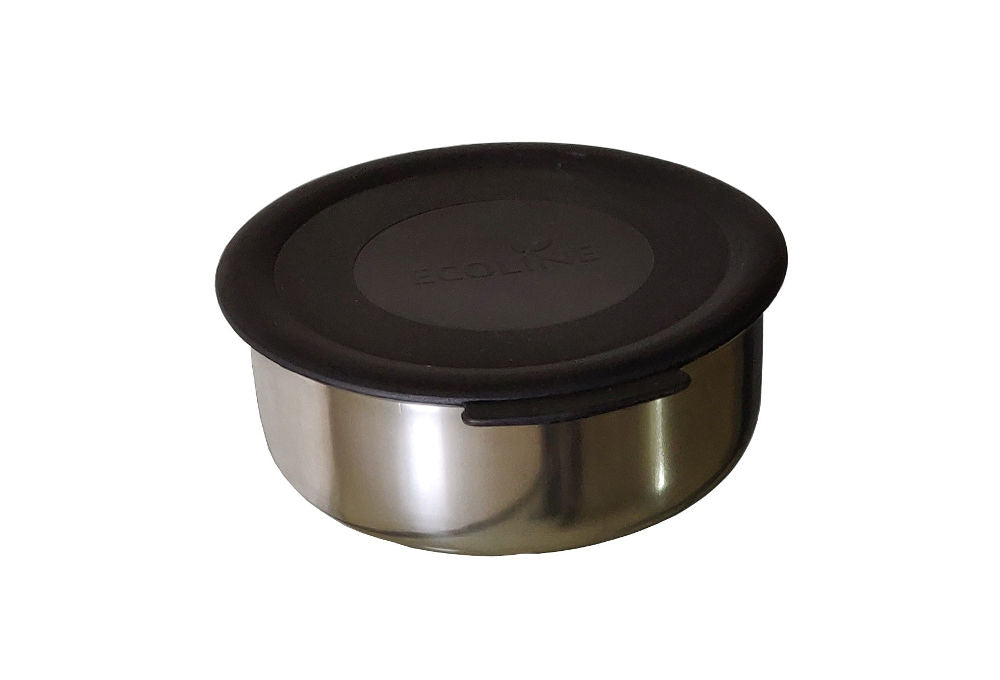 Stainless Steel Container (small) with Lid and Gasket - Power Lunch Q4, Ezee Lunch V3/ 4/V4