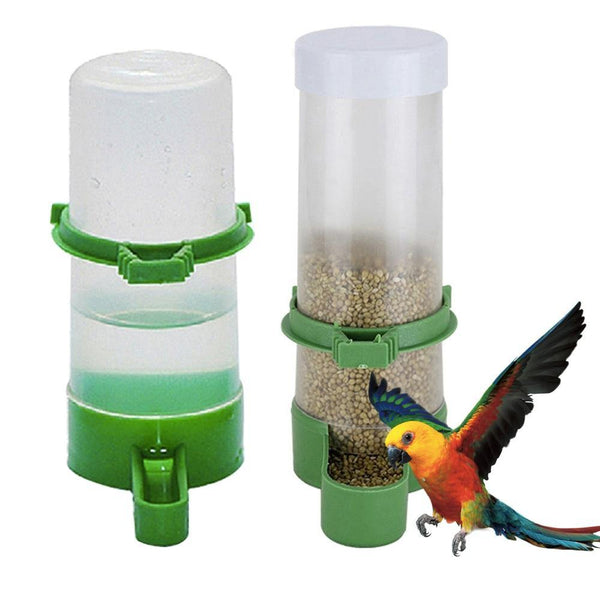 Bird Water Drinker Feeder Automatic Drinking Fountain - Sniffany Cricket Pet Supplies