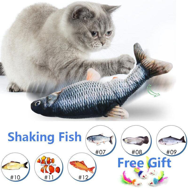 Electric fish toy pet 3D Simulation fish