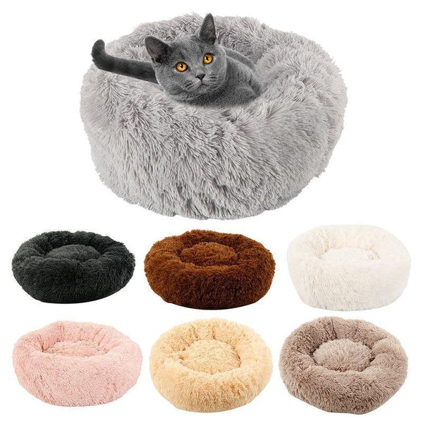 Winter Warm Round Sleeping Beds for Cat