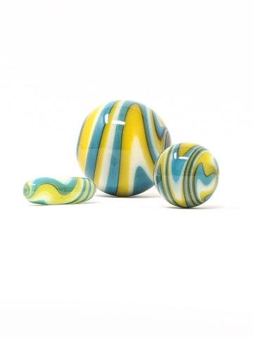 yellow slurper marble set