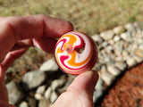 "Wigwag Glass Marble (1.4"")"