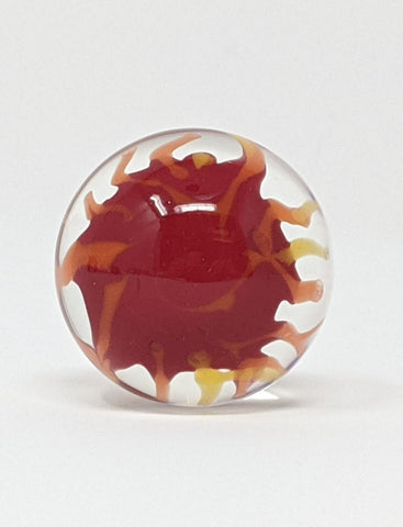 Fire marble