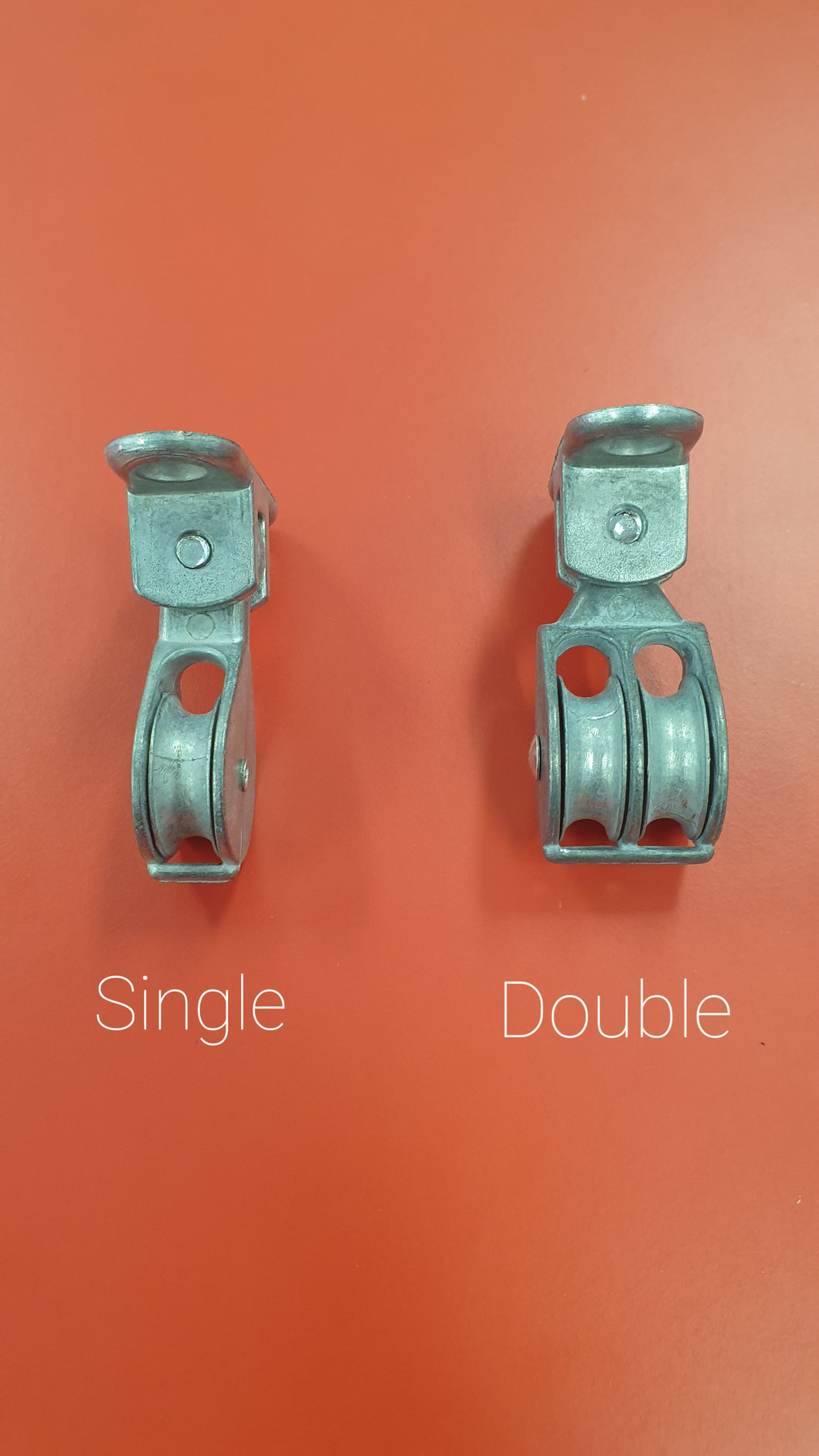 Single & Double Pulleys