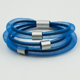 Christina Brampti Bracelet, Light Blue/Silver