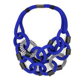 Christina Brampti Necklace, Blue/Black