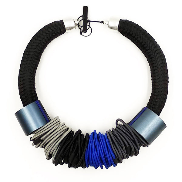 Christina Brampti Necklace, Chunky, Blue