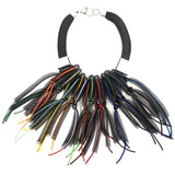 Christina Brampti Necklace, Statement, Multi-Color