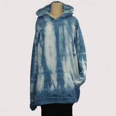 Catherine Bacon Hoodie, Indigo/White, XL