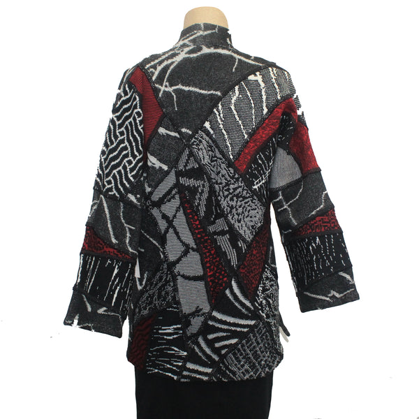 Chris Triola Jacket, Paloma, Black/White/Red, XS
