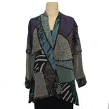 Chris Triola Jacket, Paloma, Neutral/Purple/Green, S