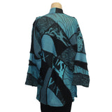Chris Triola Jacket, Paloma, Aqua/Black, M