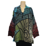Chris Triola Jacket, Paloma, Jewel Tones/Orange, M