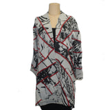 Chris Triola Jacket, Annie, Black/Grey/Red, XS