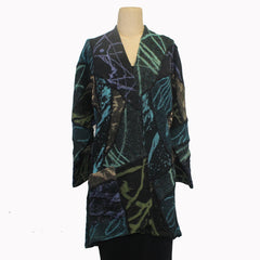Chris Triola Jacket, Annie, Dark Jewel Tones, M