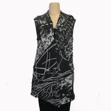 Chris Triola Vest, Allegro, Black/White, S
