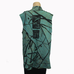 Chris Triola Vest, Allegro, Sea, M