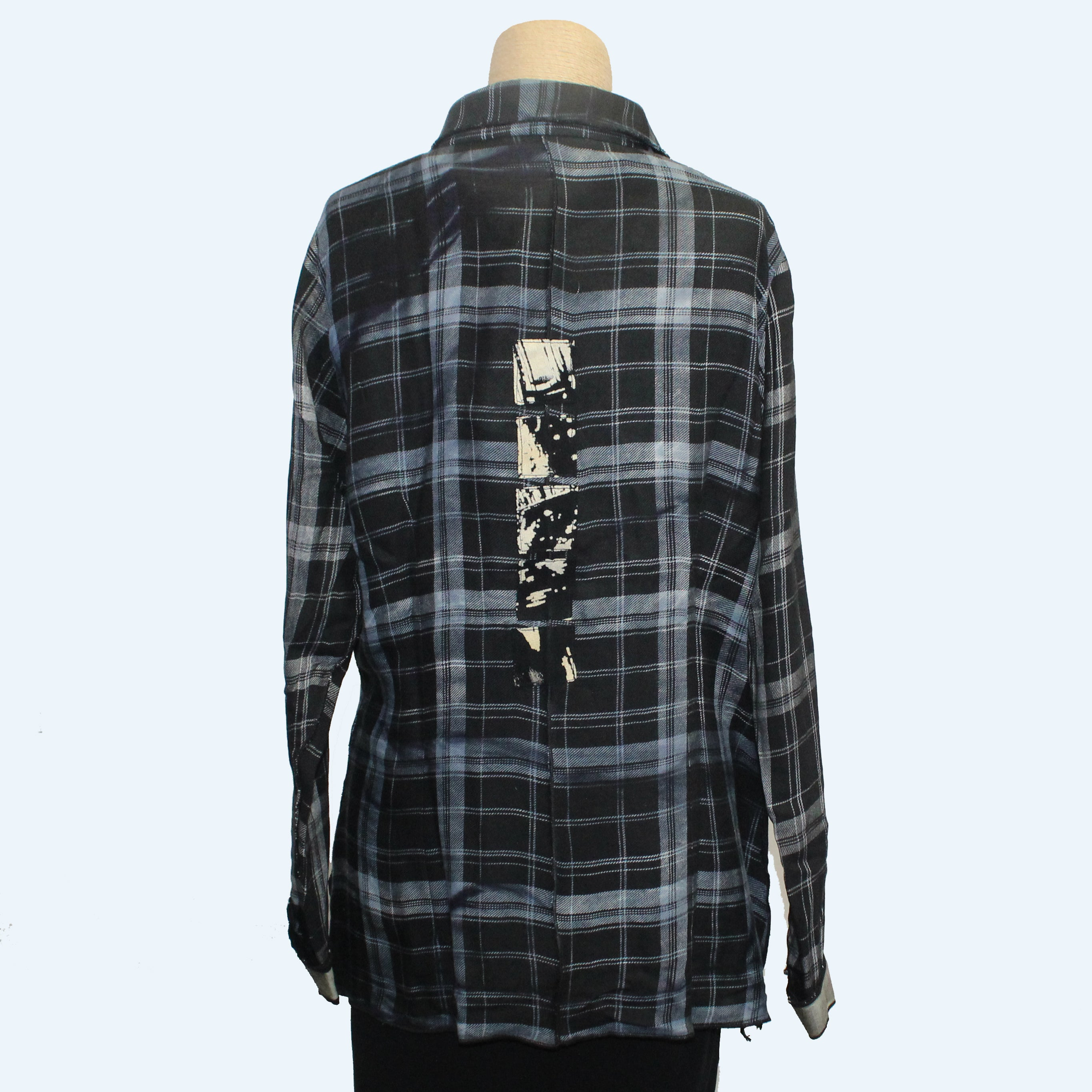 Deborah Cross Shirt, Plaid, S