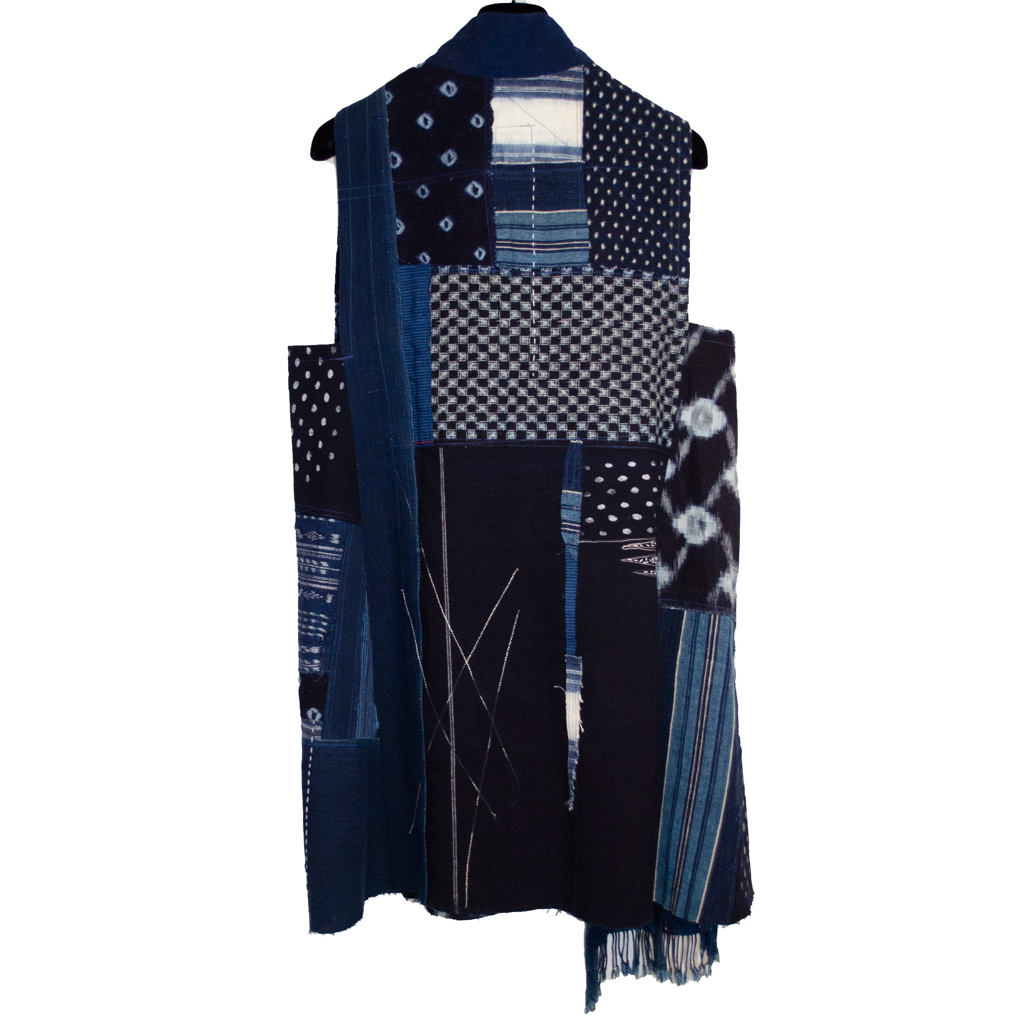 Holly Badgley Vest, Indigo, M/L