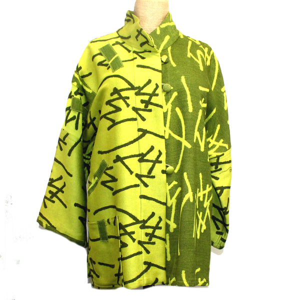 Joyce Wilkerson Jacket, Lotus, Citrus Graffiti, S/M