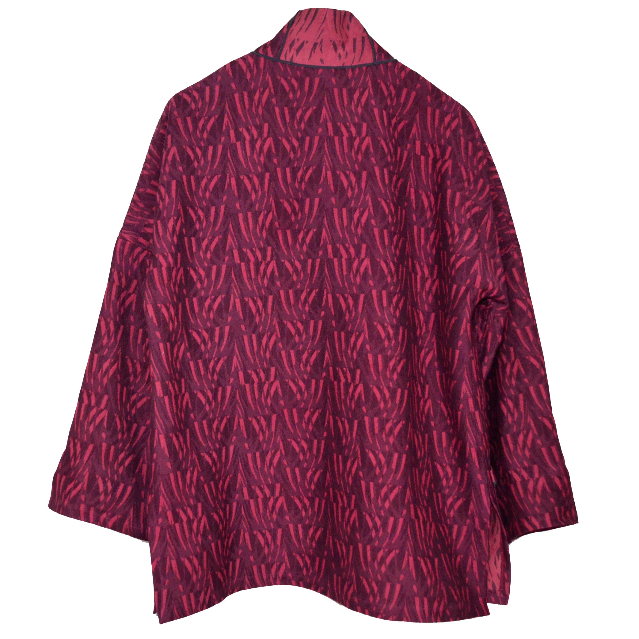 Joyce Wilkerson Jacket, Lotus, Raspberry Elements, M
