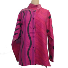 Kay Chapman Shirt, Hot Pink, M/L