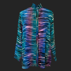 Doshi Shirt, SweetTart, Ocean Waves, M