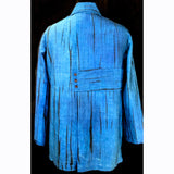 Doshi Shirt, Sideways, Cool Blue, M