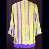 Doshi Shirt, Whoop-De-Do, Violet, M