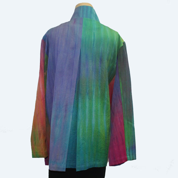 Doshi Jacket, Zip, Coat of Many Colors, M/L