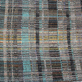 Randall Darwall Scarf, Summer & Winter, Black/Turquoise/Gold