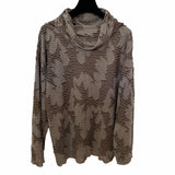 Darwall & Murphy Top, Grey/Brown, L