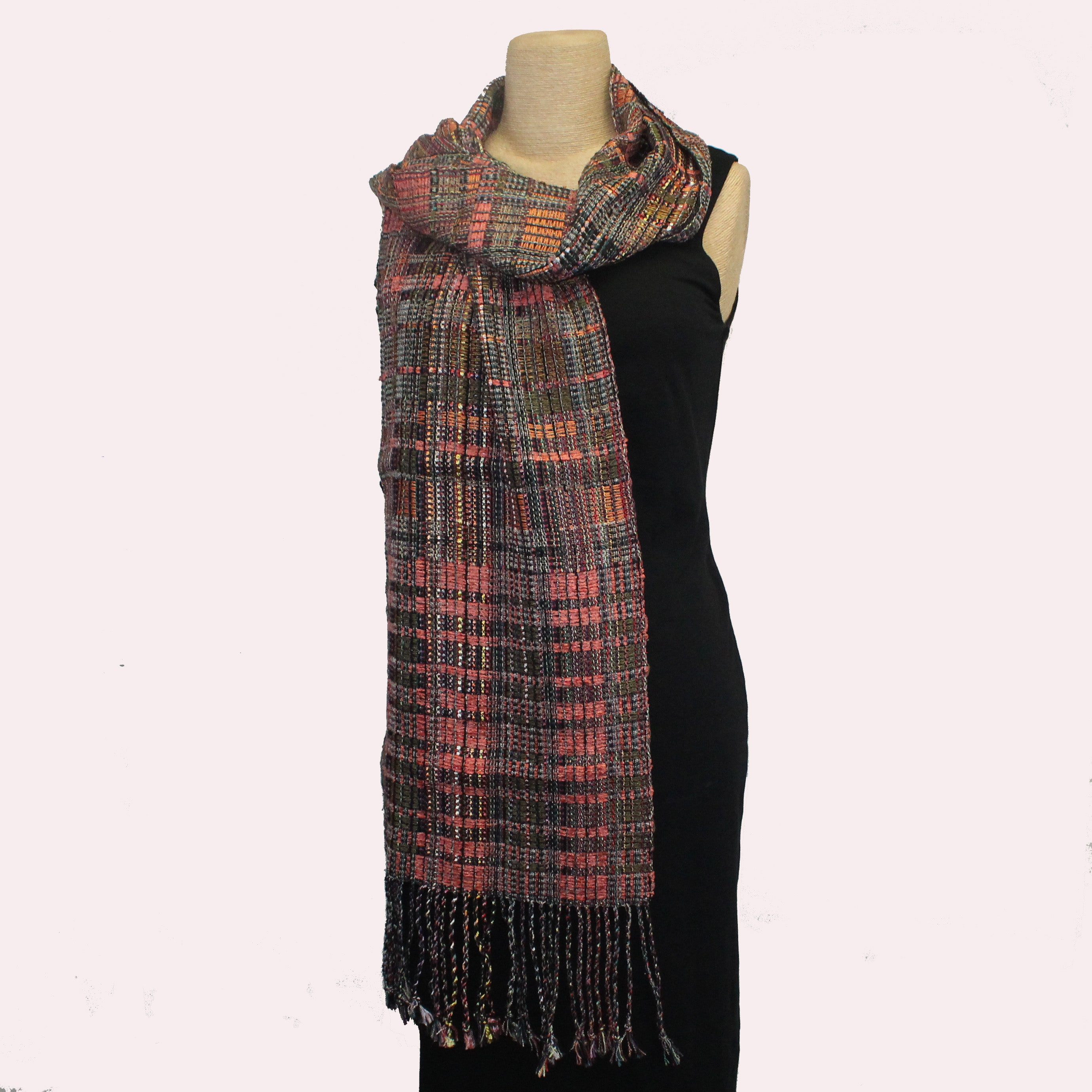 Randall Darwall Scarf, Summer & Winter, Salmon