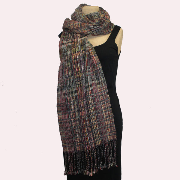 Randall Darwall Scarf, Summer & Winter, Olive/Red