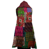 7 Hands Design Vest, Kanta Silk