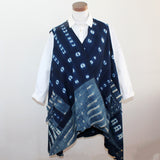 7 Hands Design Circle Vest, African Indigo