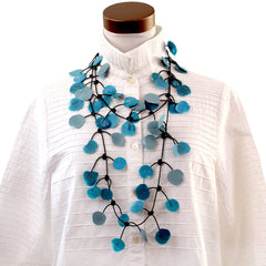 Annemieke Broenink, Necklace, Poppy, Summer Teal