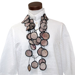 Annemieke Broenink, Necklace, Fabric, Rustic Brown
